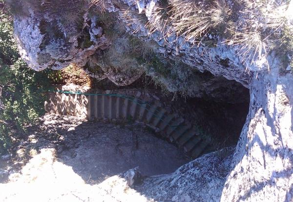 Пещера Эмине Баир Коба (иначе «Трехглазка» или «Ноздря»)