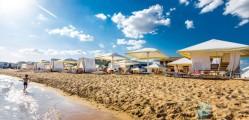 пляж лазурный берег евпатория