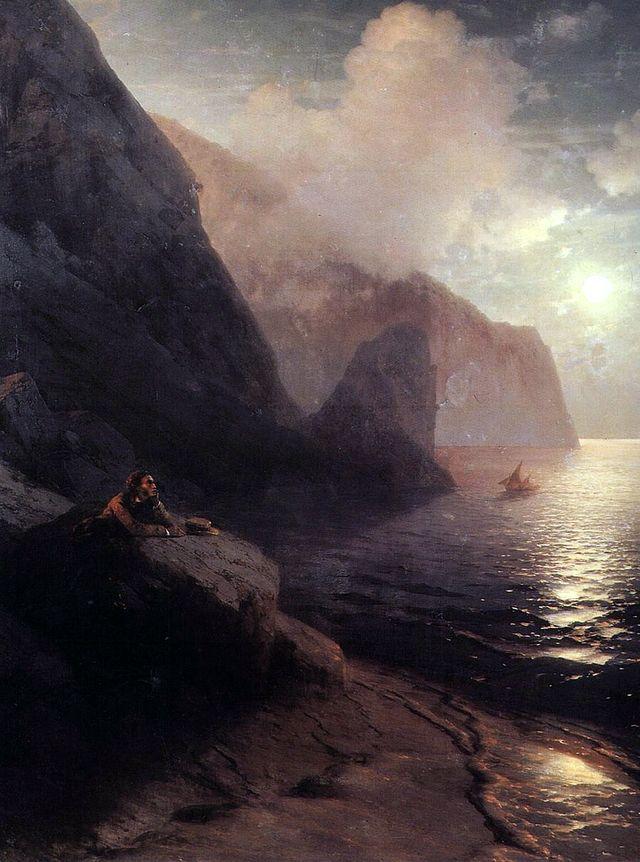 Пушкин на картине Айвазовского