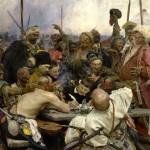 Казаки и знаменитое письмо запорожцев