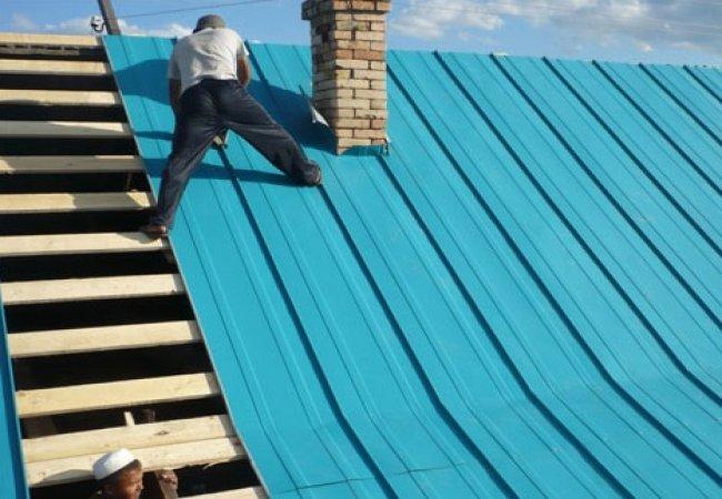 Перекрытие крыши