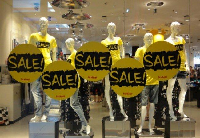 Масштабные распродажи накануне зимних праздников