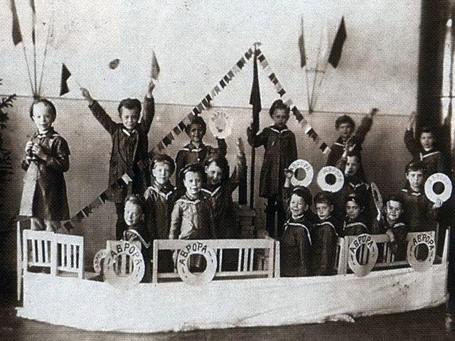 Детский сад 20-е - 30-е годы прошлого века