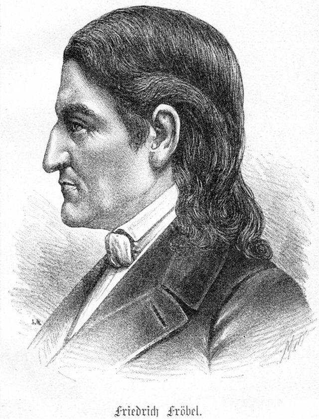 Фридрих Фрёбель - немецкий педпгог