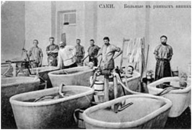 Процедуры в Сакской грязелечебнице