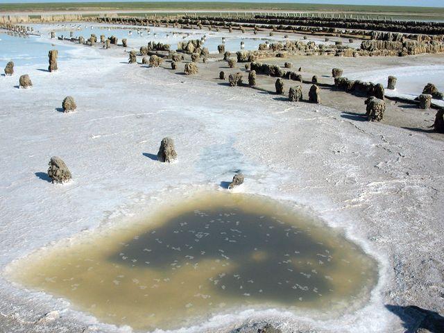 Соляной промысел на Сиваше
