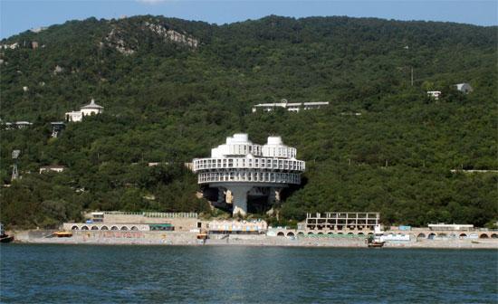Санаторий на южном берегу Крыма