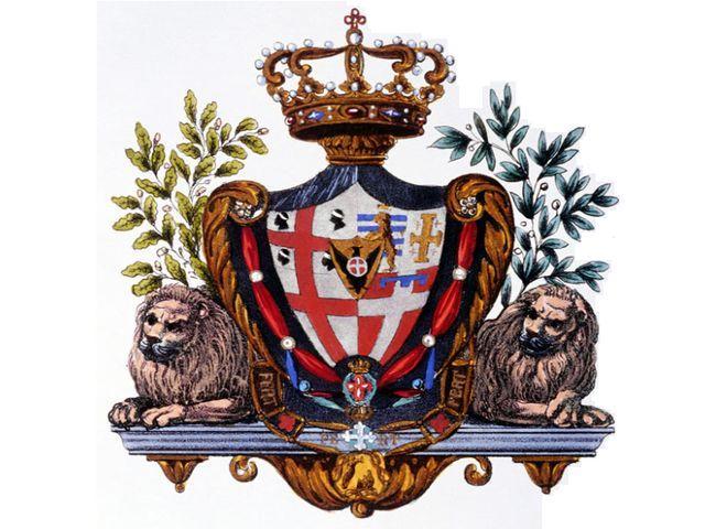 Герб уже несуществующего государства Сардиния