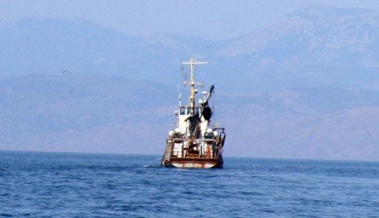 Рыболовецкое судно, Крым, 2009