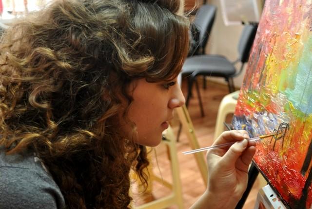 Мастер-класс живописи, Крым, Севастополь