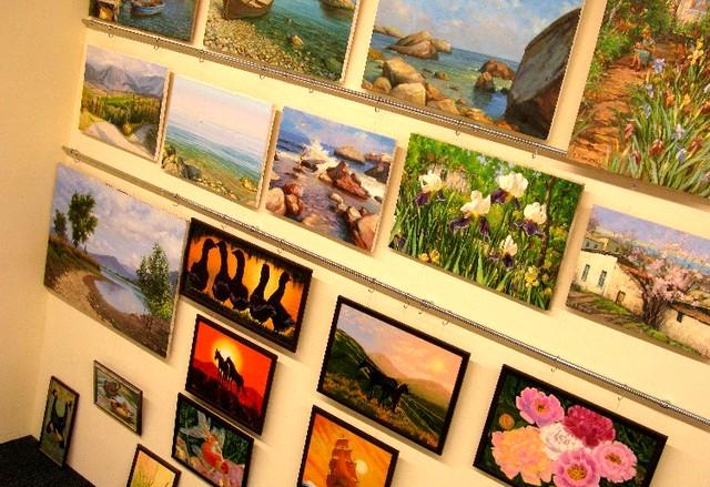 Картины учеников студии Открой в себе художника
