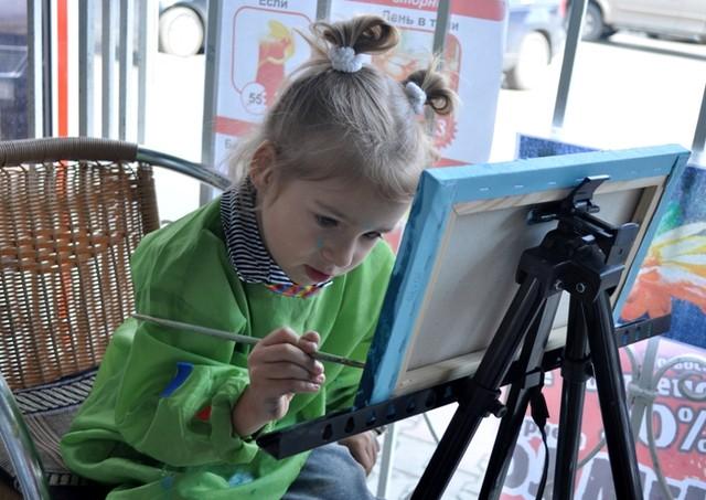Мастер-класс живописи для детей в Севастополе