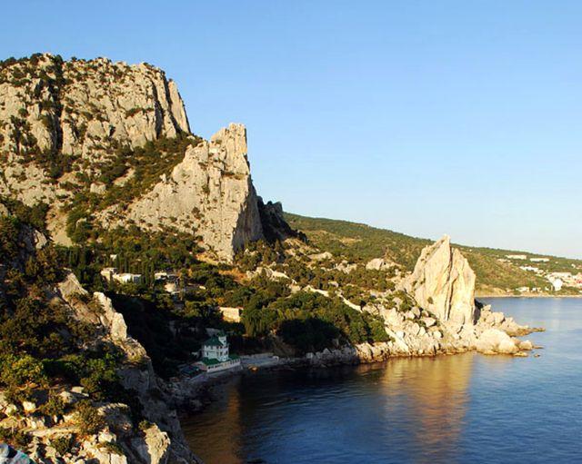 Гора Кошка в Симеизе. Южный берег Крыма