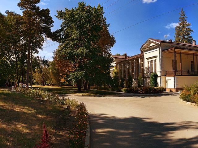 Воронцовский парк в Симферополе