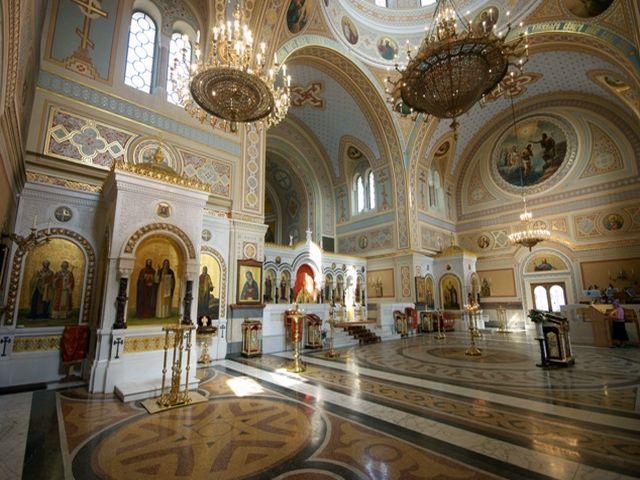 Внутреннее убранство Собора Святого Владимира