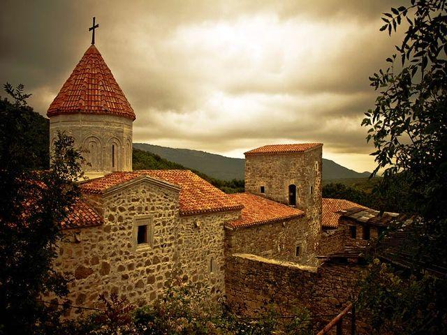 Старинная армянская церковь Старом крыму
