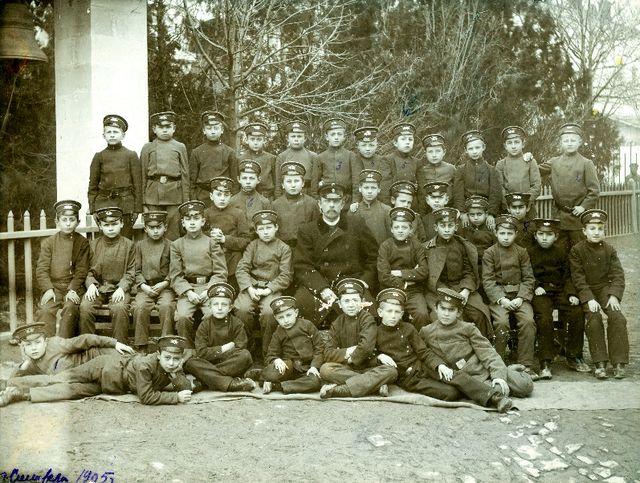Третий класс мужской гимназии. 1905 год