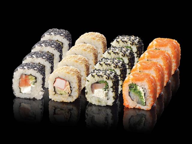 Жители Днепра очень любят суши!