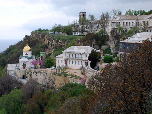 Свято-Георгиевский монастырь близ Балаклавы