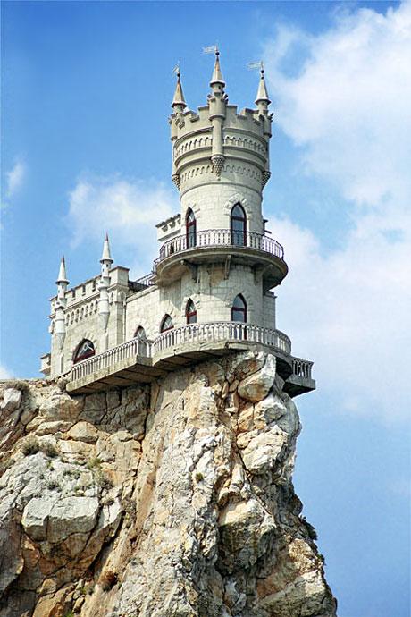 Ласточкино гнездо, Крым, мыс Ай-Тодор