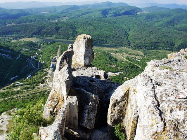 Древняя крепость Тепе-Кермен