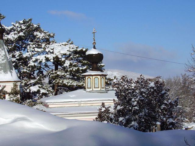 Топловский Женский Монастырь зимой