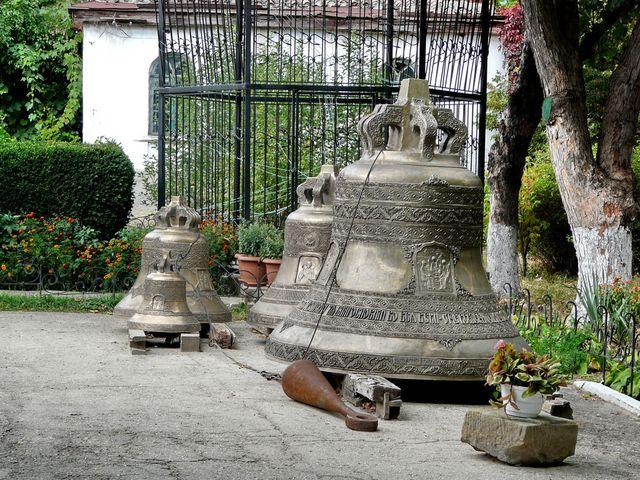 Колокола для звонницы Топловского Монастыря