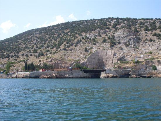Военный подземный завод, Крым, 2009