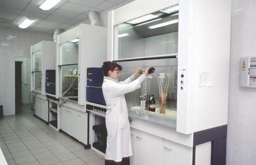 Металлический шкаф вытяжной для лаборатории