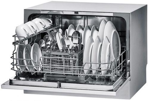 Организация пространства камеры посудомойки и ее вместимость