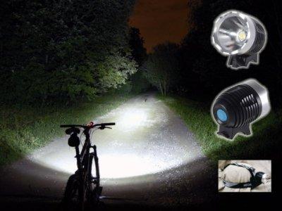 Защита в темное время суток, когда вы на велосипеде или пешком