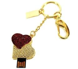 USB флешка сердце - подарок на день влюбленных