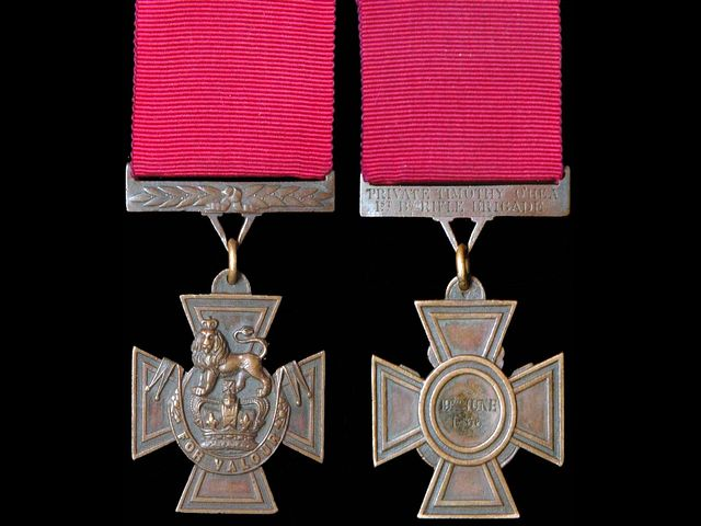 Высшая военная награда Соединенного королевства – Крест Виктории