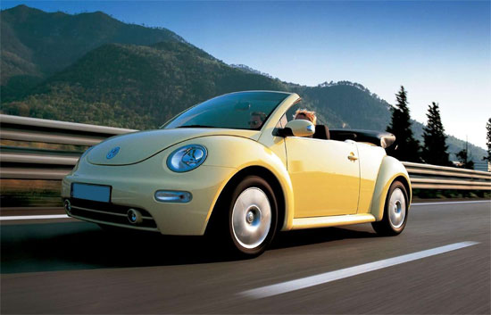 Volkswagen кабриолет