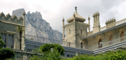 Воронцовский дворец символ Крыма