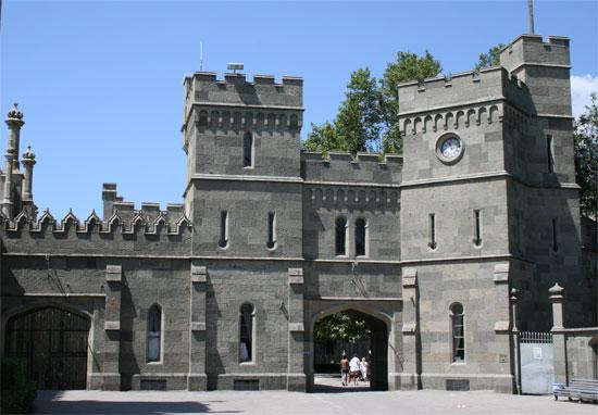Воронцовский дворец, внутренний двор