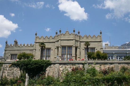 Воронцовский дворец в стиле поздняя готики