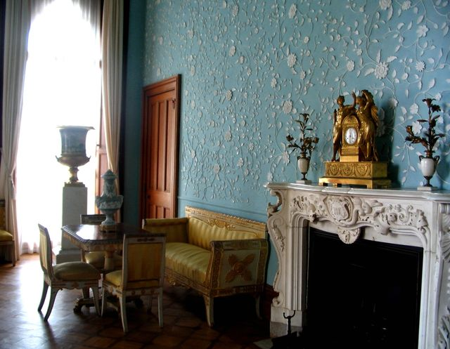 Голубая гостинная в Воронцовском дворце