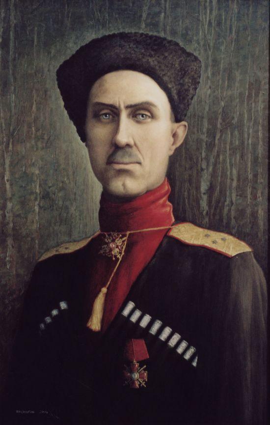 Портрет генерала Врангеля