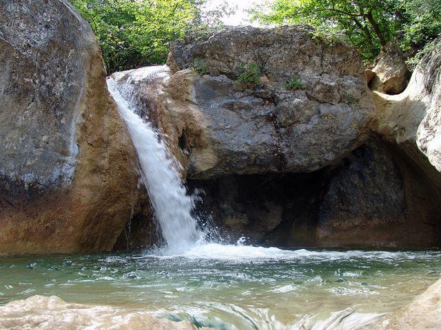 Водопад Бага