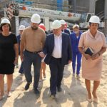 Губернатор Севастополя проверил ход строительных работ на объектах Верхнесадовского МО