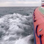 В Евпатории мужчину унесло в море на надувном матрасе