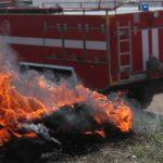 Почти 350 человек тушили условный пожар у горы Гасфорта в Севастополе