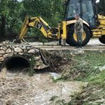 Режим повышенной готовности: в Севастополе из-за дождя реки выходят из берегов