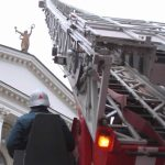 На сцене театра имени Луначарского потушили условный пожар