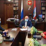 Знаком «За заслуги перед Севастополем» наградили паралимпийца Андрея Граничку