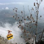 С 19 октября канатная дорога на гору Ай-Петри временно прекращает работу