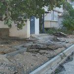 Жители домов по улице Героев Бреста в Севастополе недовольны ремонтом двора