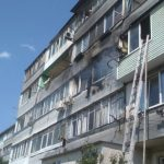В Севастополе горел балкон многоквартирного дома