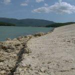 550 тысяч кубометров воды налилось в Чернореченское водохранилище за сутки